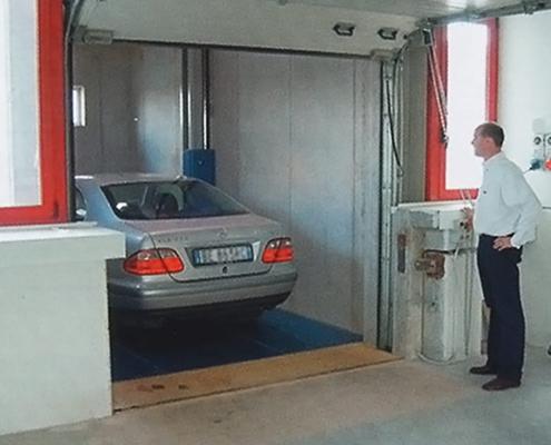 Montauto automatizzati per singoli garage o grandi parcheggi