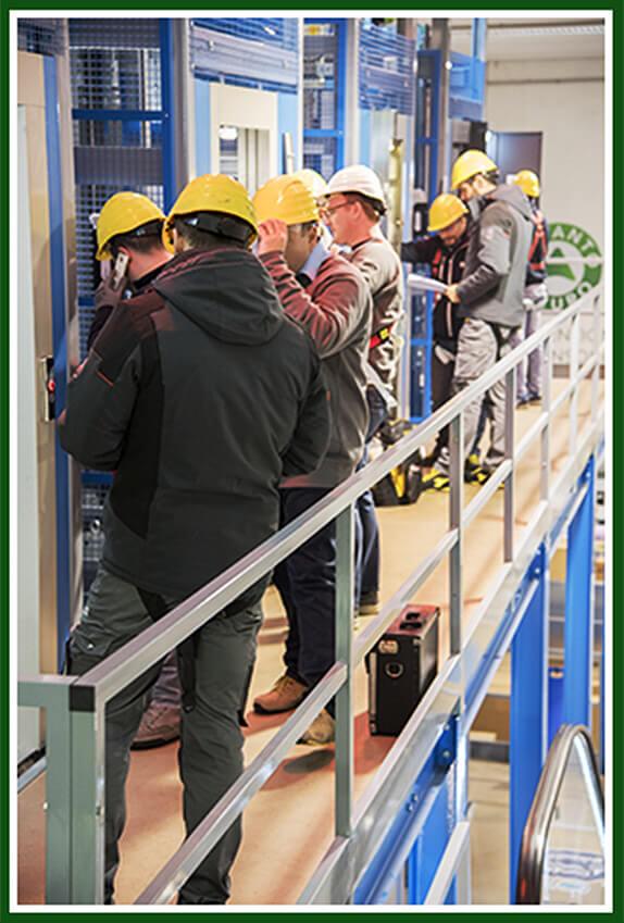 Formazione sull'installazione e manutenzione ascensori - Impianto Sicuro