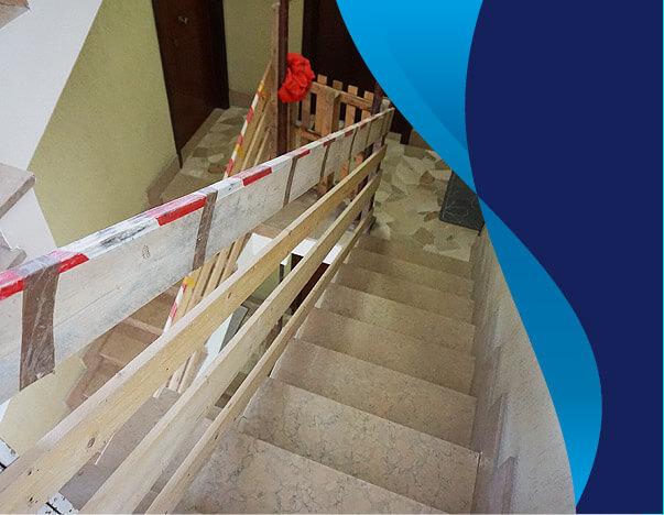 Realizziamo anche opere murarie o elettriche necessarie per l'installazione nuovo ascensore e per l'abbattimento delle barriere architettoniche