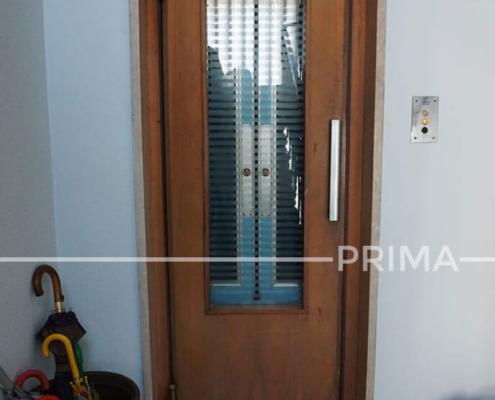 Esempio di una ristrutturazione di un ascensore obsoleto - PRIMA
