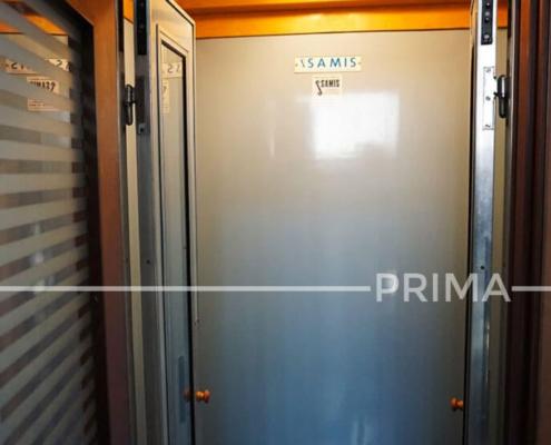 Esempio di una modernizzazione di un ascensore obsoleto - PRIMA