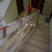 Taglio scale per ascensori