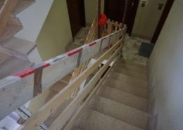 Taglio scale per installazione nuovo ascensore ed abbattimento barriere architettoniche